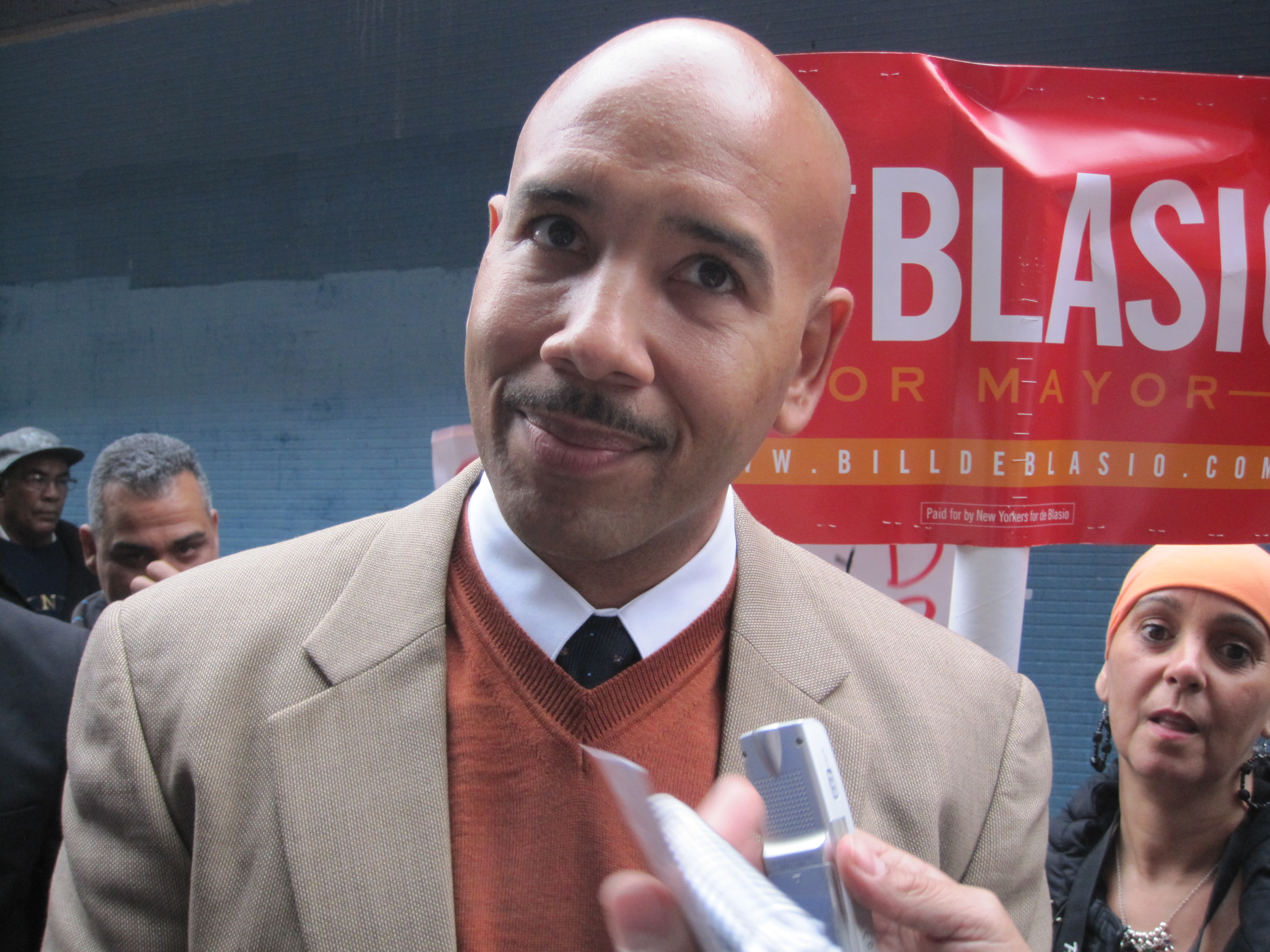 Bronx Borough President Ruben Diaz Jr. (Photo: Jill Colvin)