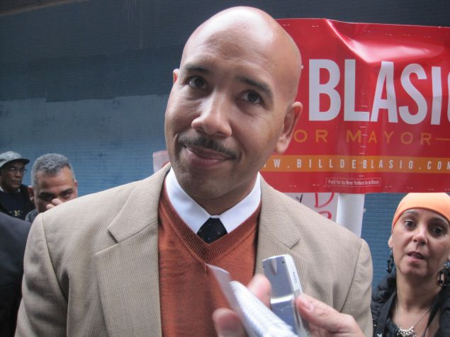 Bronx Borough President Ruben Diaz Jr.