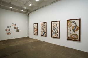 Installation view at Lelong. (Courtesy Galerie Lelong)