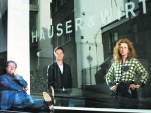 Iwan Wirth, Marc Payot and Manuela Wirth. (Photo courtesy of Hauser & Wirth, by Felix Clay)