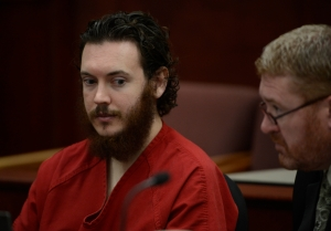 James Holmes, left, and his defense attorney, Daniel King, in June. (Photo: Andy Cross/The Denver Post via Getty)