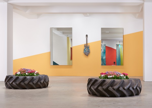 Installation view. (Courtesy the artist and Nahmad Contemporary)