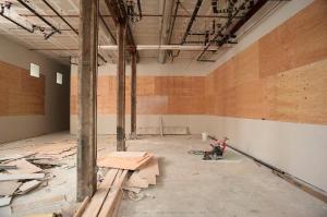 The new gallery in progress. (Courtesy Jessica Silverman Gallery)