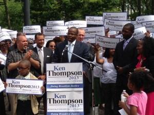 Ken Thompson's campaign kickoff. (Photo: KenThompson4DA.com)