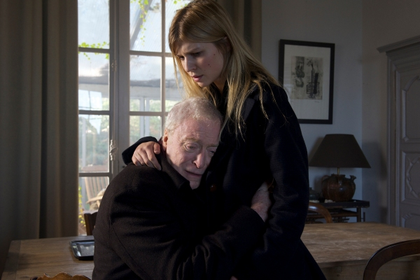 Michael Caine and Clémence Poésy in Last Love.