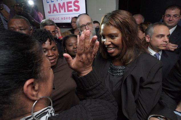 Public Advocate Letitia James. (Photo: William Alatriste for NYC Council)