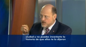 Joe Lhota on NY 1 Noticias Friday.