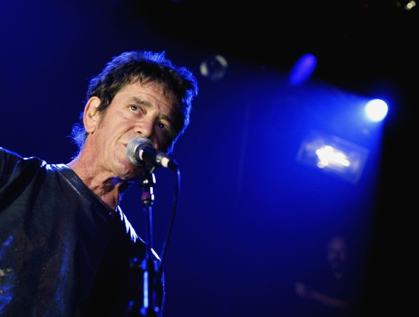 Lou Reed. (Photo by Paul Hawthorne/Getty Images)