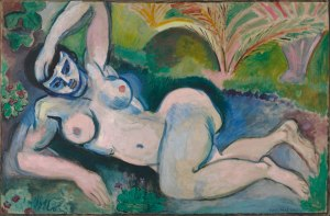 'Blue Nude' (1907) by Henri Matisse. (Courtesy NYHS)