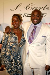 Mr. Stoute with Mary J. Blige (Patrick McMullan)
