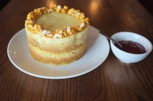 Popcorn Cake at Momofuku Saam Bar.