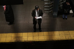 Don't ever go into the subway tracks for ANY REASON, Mr. Lisberg advises. (Photo: Getty)