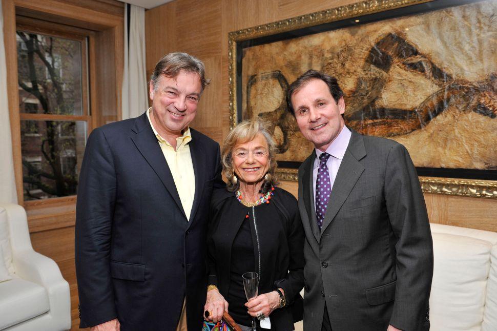 Nanne Dekking, far right. (Courtesy Patrick McMullan)
