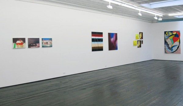 Paintings by Hahn, Guertin, Hahn and Guertin. (Courtesy Jack Hanley Gallery)
