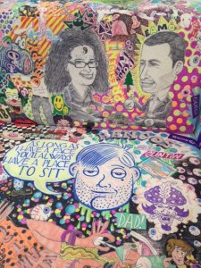 Detail of a work by Rob Pruitt. (Courtesy the artist and Gavin Brown's Enterprise)