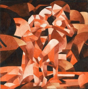 'The Dance at the Spring' (1912) by Picabia. (Courtesy NYHS)