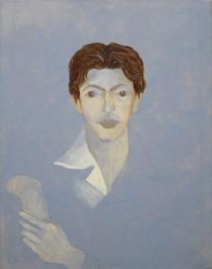 Ellen Lanyon, 'Portrait of Julian Pretto,' circa 1987–89. (Courtesy the artist and Minus Space)