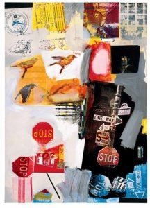 'Overdrive,' 1963. (Robert Rauschenberg Foundation/Licensed by VAGA, New York/MoMA)