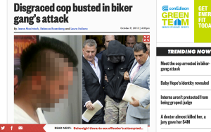 The paper has opted not to publish identifying photos of disgraced NYPD detective Wojciech Braszczok.
