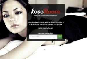 All of the users definitely look like this (Screengrab: loveroom.launchrock.com)