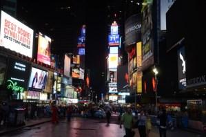 Times Square, the tourist trap.
