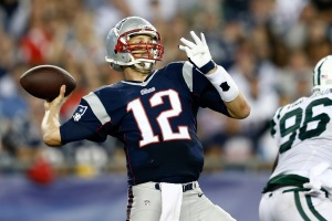 Bill de Blasio was rooting for Tom Brady as he faced off against the Jets int his game. (Photo: Getty)