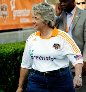 Annise Parker, mayor of Houston via Getty Images
