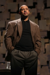 Ruben Santiago-Hudson in  'How I Learned What I Learned.' (Photo by Joan Marcus)