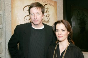 Director Hal Hartley and actress Parker Posey. (Getty Images)