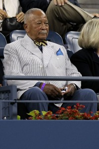David Dinkins at the U.S. Open. (Photo: Nick Laham/Getty)