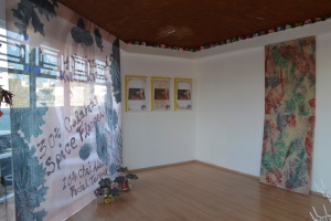Installation view of 'Because We Can' at NO Space.