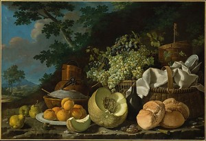 'The Afternoon Meal' (ca. 1772) by Luis Meléndez. (Courtesy the Metropolitan Museum of Art)