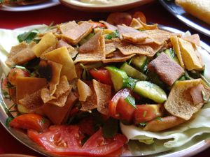 Fattoush salad. (Photo: Wikimedia Commons)