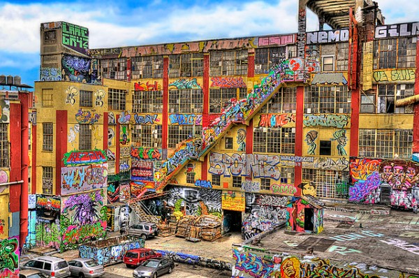 5Pointz, in all its colorful glory (iamNigelMorris, flickr).