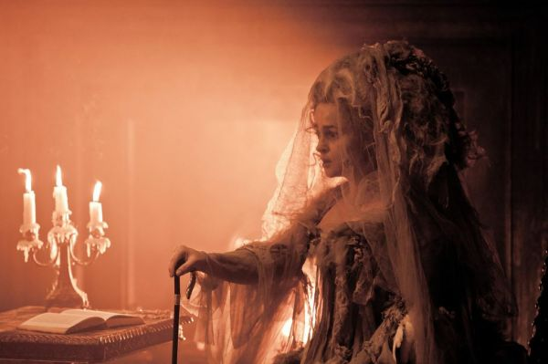 Helena Bonham-Carter as Miss Havisham in Great Expectations.
