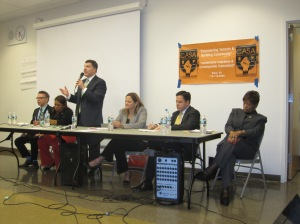 The leading candidates for City Council Speaker tonight in the Bronx.