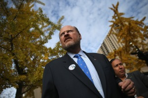 New York City Mayoral Candidate Joe Lhota Casts His Vote In Election