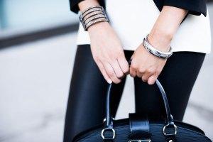 It even looks good with your futuristic Claire's cuff. (Photo: hellomemi.com)