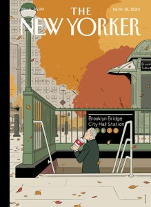 This week's cover of The New Yorker.