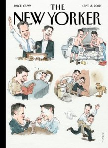 New Yorker cover of Mitt Romney and Paul Ryan