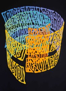 Bruce Pearson, 'Contains real hard won insights,' 2013. (Courtesy the artist and Ronald Feldman Gallery)