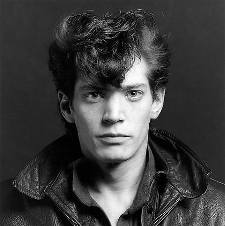 A self-portrait by Robert Mapplethorpe.