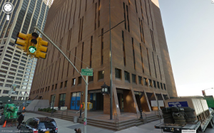 The Daily News's downtown headquarters
