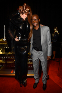 Lady Gaga and manager Troy Carter