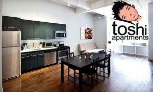 Toshi Apartments listing. (Groupon)