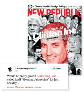 The New Republic Twitter