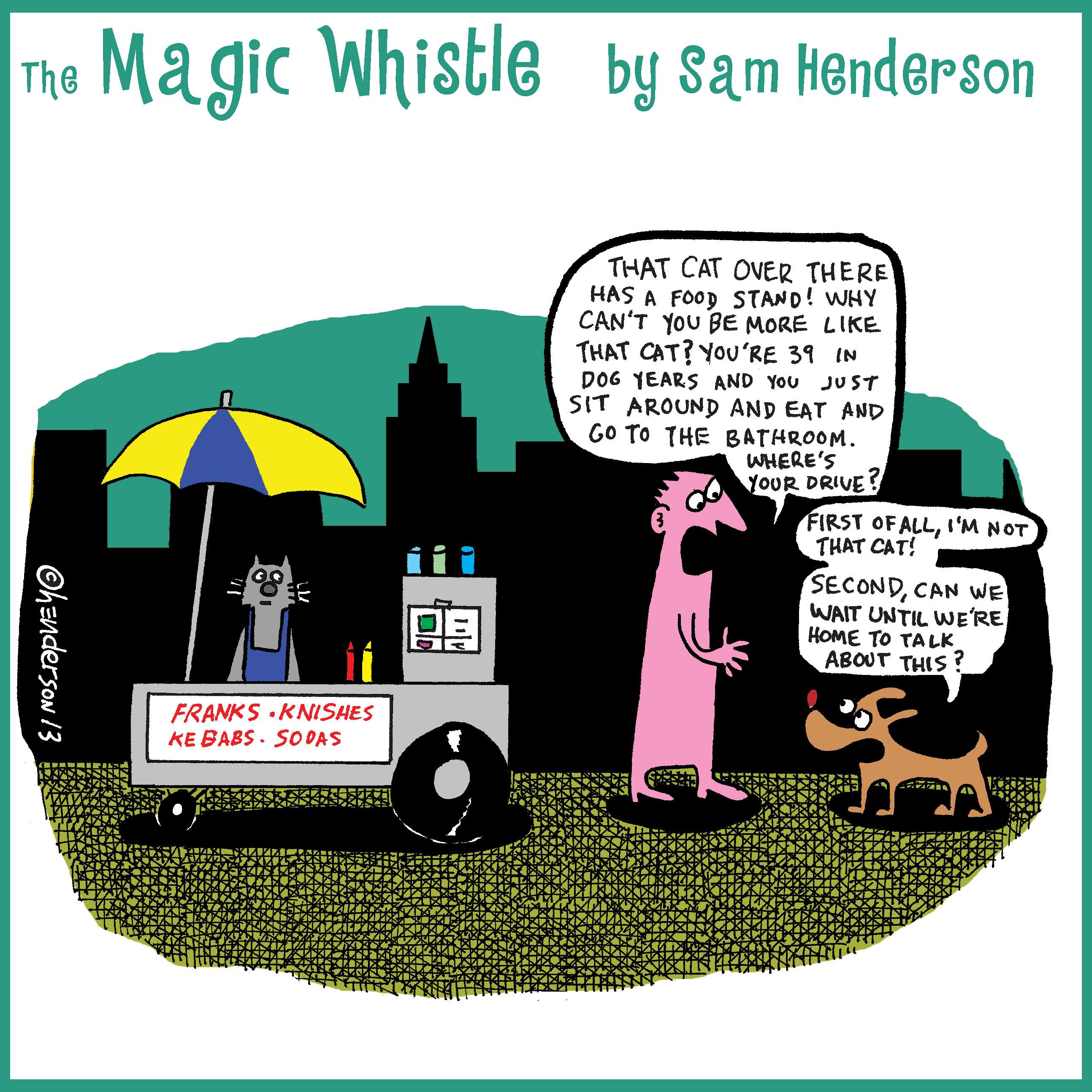 Sam Henderson Comic 11-11-2013