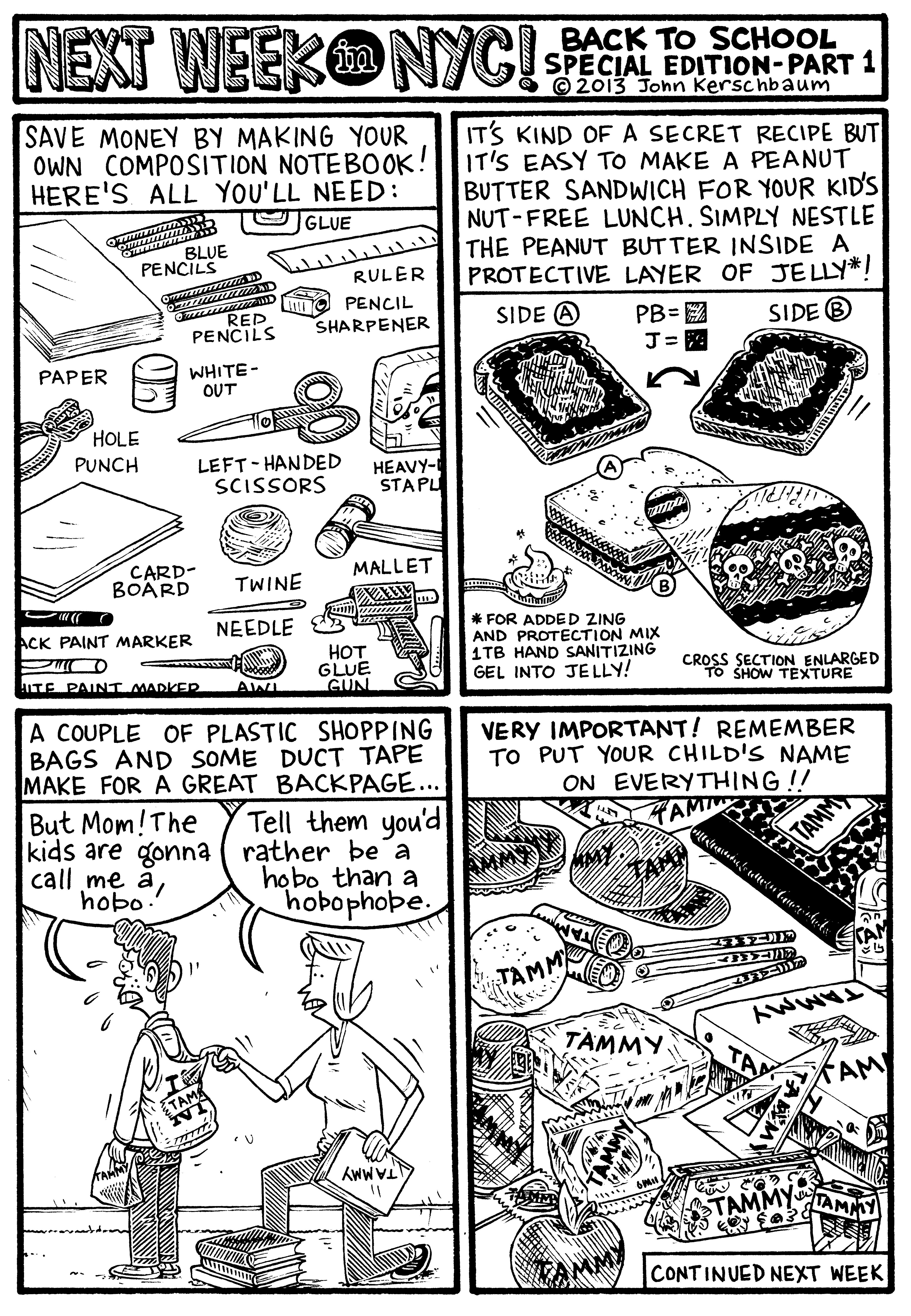 John Kerschbaum Comic 11-11-13