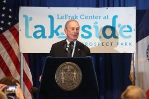 Mayor Michael Bloomberg today. (Photo: NYC Mayor's Office)