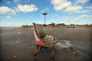 Coney Island beach after Hurricane Sandy.  (Photo: Mario Tama/Getty Images)
